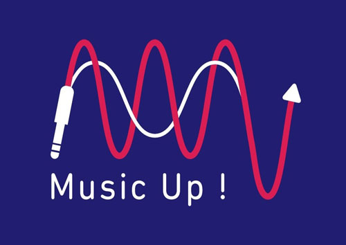 logo music up!
