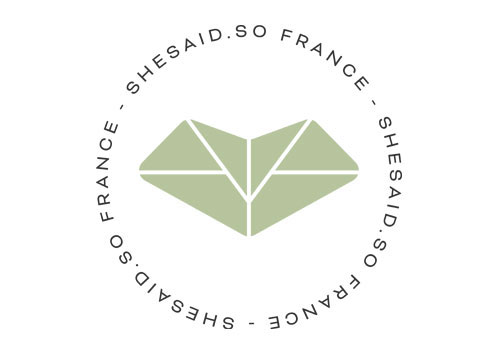 logo she said so france